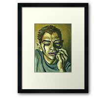 Optophobia: The Fear of Opening One's Eyes Framed Print