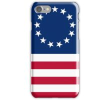 Betsy Ross 13 Stars in a Circle American Flag iPhone Case/Skin