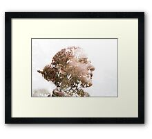 Aimée, Multiple exposure Framed Print