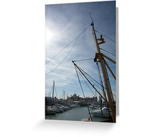 Yearning for the Sea Greeting Card