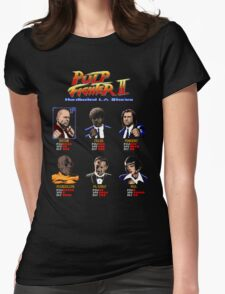 Pulp Fighter II Womens Fitted T-Shirt