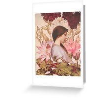 The Flower Dreams Greeting Card