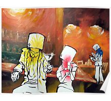 The buckethead bar Poster
