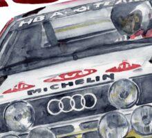 Rally Group B-Audi Sport Quatro Sticker