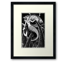 Mermaid Arches Framed Print