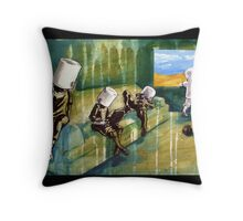 Buckethead kids Throw Pillow