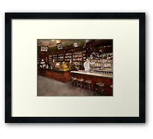 Apothecary - Cocke drugs apothecary 1895 Framed Print