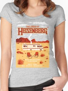 The Legend of Heisenberg Women's Fitted Scoop T-Shirt