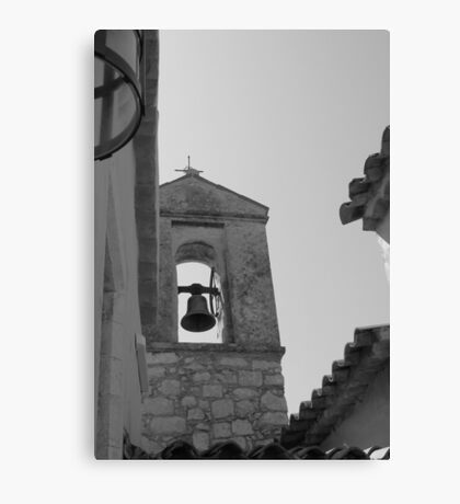 Bell Tower in France Canvas Print