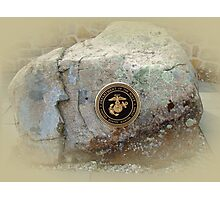 Honoring the US Military Services - Marine Corps Photographic Print