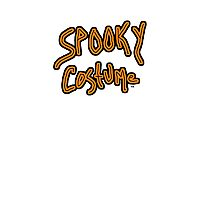 spooky Halloween costume   Photographic Print