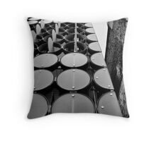 Past and Present. Throw Pillow