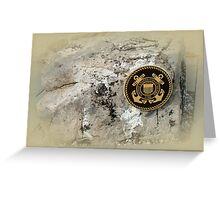 Honoring the US Military Services - Coast Guard Greeting Card