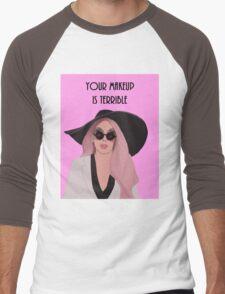 Your Makeup is Terrible Alaska Thunder  Men's Baseball ¾ T-Shirt