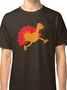 Thanksgiving Turkey on the RUN! Classic T-Shirt