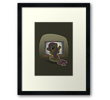 Fluttergeist Framed Print