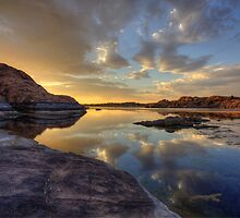 Peaceful Granite  by Bob Larson