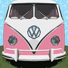 VW Kombi Van, The LOVE BUGger by Bruiserstang