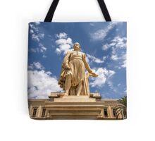 Landmark Statue Tote Bag