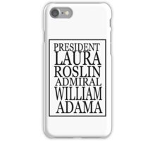 Roslin and Adama iPhone Case/Skin