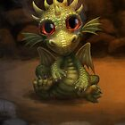 Baby Dragon by murals2go