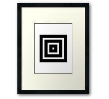 Temple Rings Framed Print