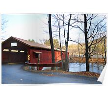 Covered Bridges Poster