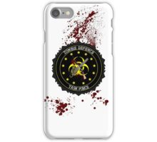 zombie defence Task Force iPhone Case/Skin