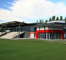 Marcellin Hall, Marist College Canberra by Property & Construction Photography