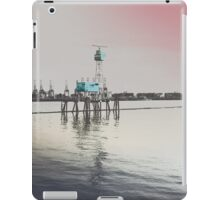 Hamburg Harbour - Guard of the Elbe - Altona Fischmarket iPad Case/Skin