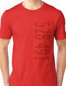 Inception - 528491 Red Unisex T-Shirt
