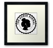 The Audio Signal Framed Print