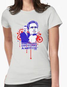 OBAMA VS MITT tee :D Womens Fitted T-Shirt