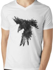 Ink In Flight Mens V-Neck T-Shirt