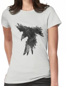Ink In Flight Womens Fitted T-Shirt