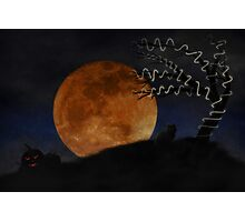 Halloween on Haunted Hill Photographic Print