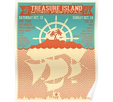 Treasure Island Music Festival Poster Poster