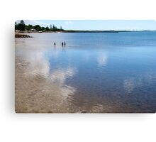 Clouds in the Bay Canvas Print