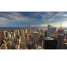 Midtown Manhattan Sunset Photographic Print