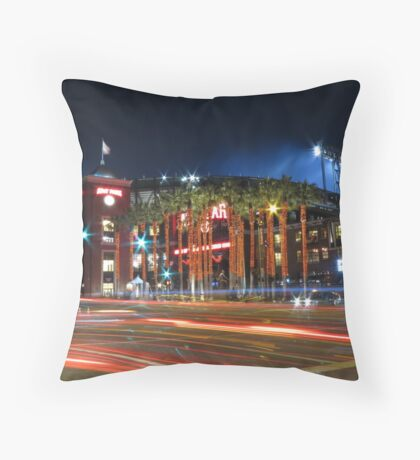 AT&T Park SF Throw Pillow