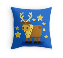 Reindeer Throw Pillow