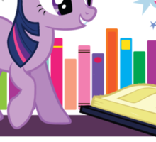 Ponyville Public Library Sticker