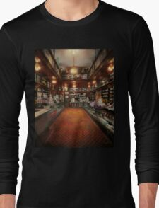Drugstore - G.W. Armstrong drug store 1913 Long Sleeve T-Shirt