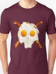 Bacon Eggs Skull Unisex T-Shirt
