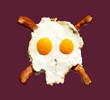 Bacon Eggs Skull Unisex T-Shirt