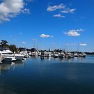 Yamba Marina, Northern NSW, Australia by Margaret Morgan (Watkins)