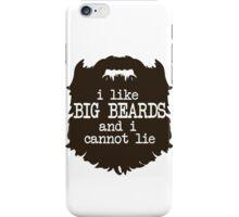 I Like Big Beards iPhone Case/Skin