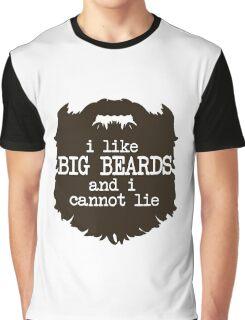 I Like Big Beards Graphic T-Shirt