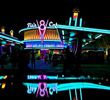 Flo's V-8 Cafe  by Kingrum
