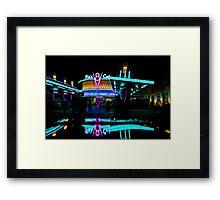 Flo's V-8 Cafe  Framed Print